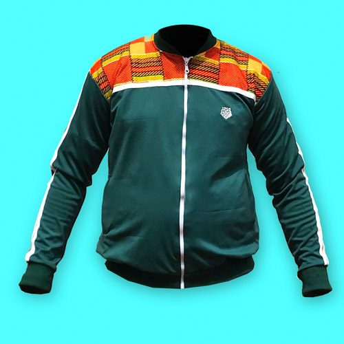 Green Timon Sports Jacket